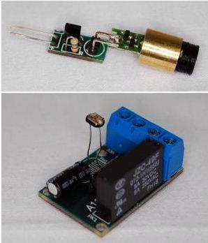 AVT 1510 optyczna bariera laserowa - jak uruchomić?