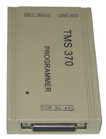 Programator TMS370 - symbole układów scalonych