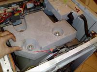Pralka Polar PDT 1019 - bęben uderza w obudowę