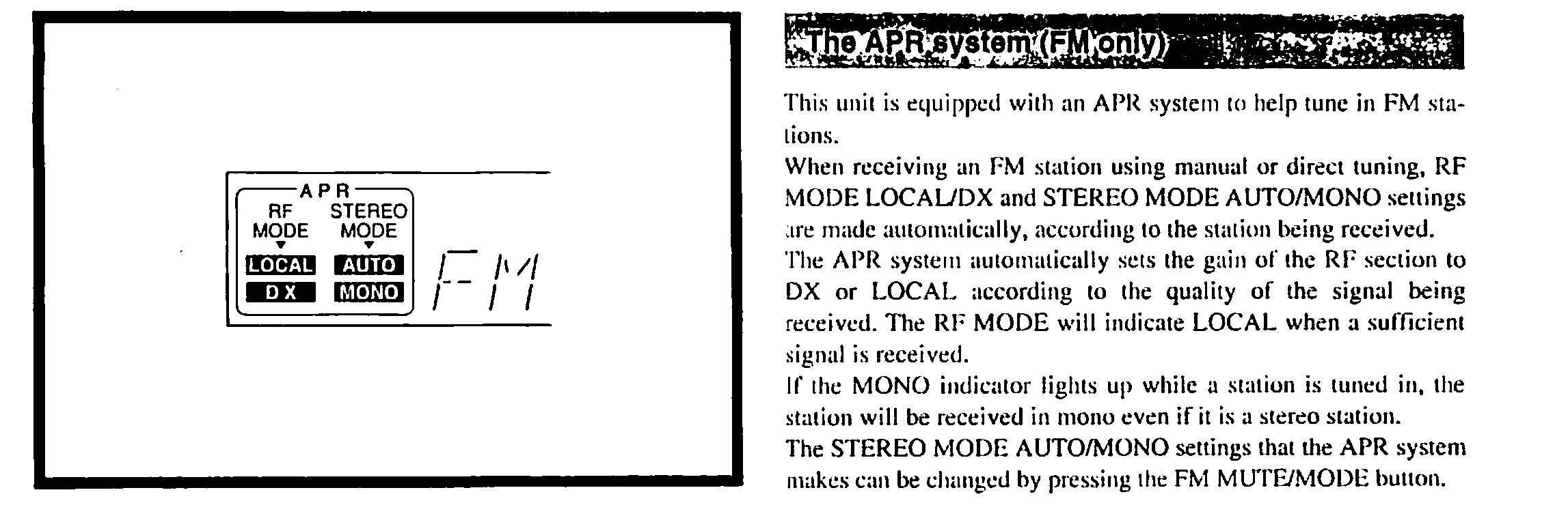 ONKYO TX-8211 - Ma�e problemy z obs�ug� amplitunera: RF MODE i przycisk GROUP.