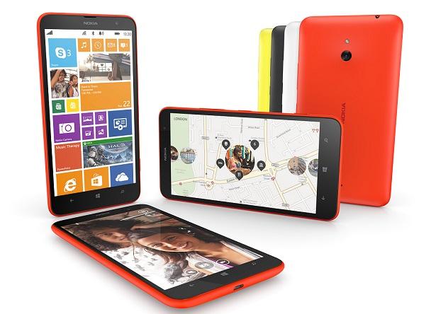 "Nokia Lumia 1320 - phablet z 6"" ekranem 720p, Windows Phone 8 i LTE"