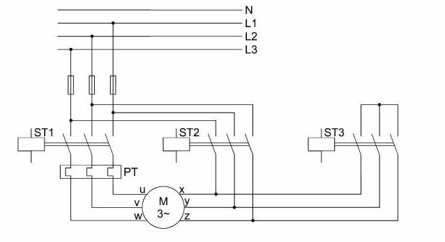 Silnik 3 fazowy - Ocena poprawno�ci pod��czenia