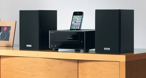 Onkyo CS-345 - system HiFi z CD i dokiem do iPoda/iPhone'a