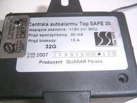 Quasar, Top Safe 30 - Brak komunikacji z pilotem, tryb serwisowy