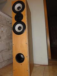 Tonsil GDN 15/40/5 + Vifa DX25TG - moje pierwsze DIY