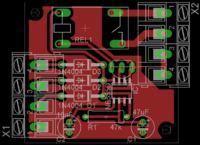Silnik indukcyjny okapu - sterowanie obrotów układem AVT1613 + NE555
