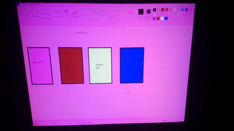 EPSON EMP-X3 - �le wy�wietlane kolory