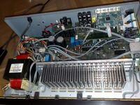 Amplituner SONY STR-DG510 głośno buczy