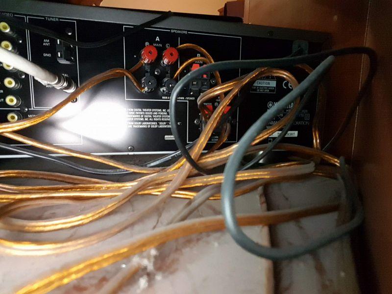 LG i Yamaha HTR 5630RDS - podłączenie amplitunera z tv