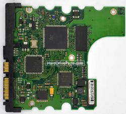 Dysk Barracuda 120GB, spalony element elektroniki