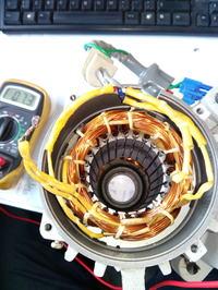 Brak reakcji na regulację obrotów silnika servo