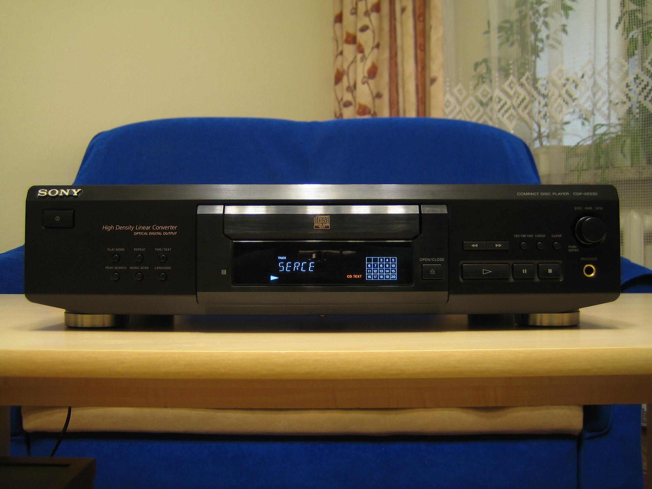 [Sprzedam] Odtwarzacz CD Sony CDP-XE 530