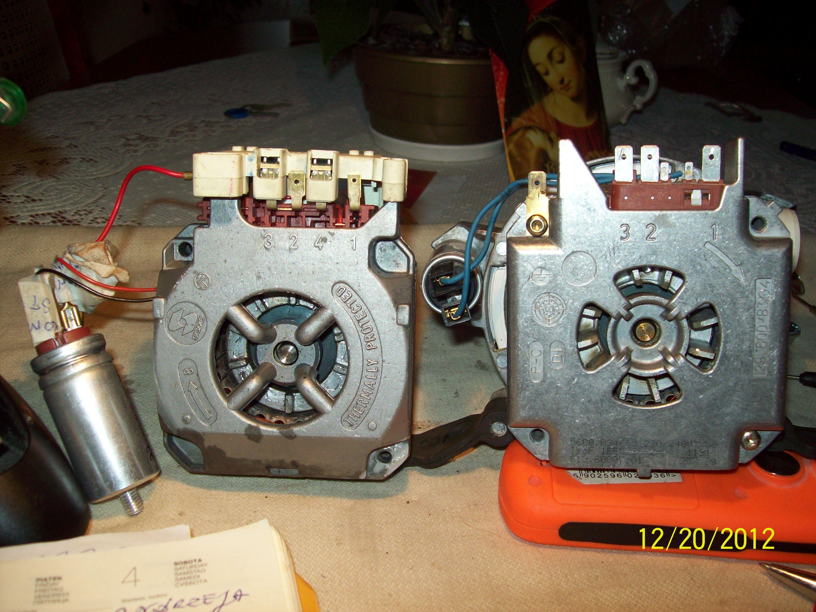 Zmywarka SIEMENS SF55A560  - Nie pobiera wody do komory mycia ,brak dzia�ania.