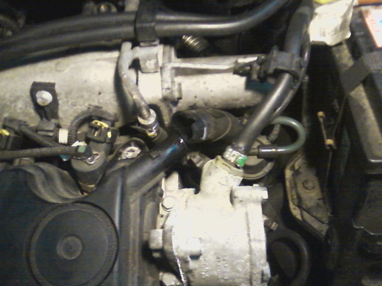 Fiat Idea 1.9 JTD - W�� odmy silnika