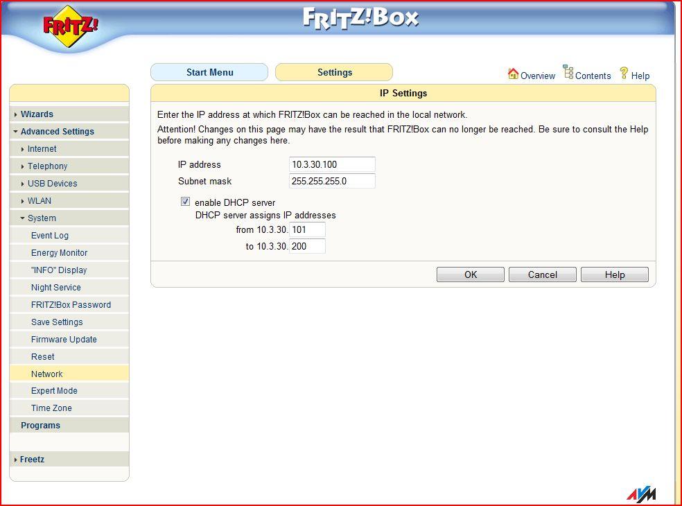 Fritz Box 7141 - nie mo�na wej�c na strone ustawie�