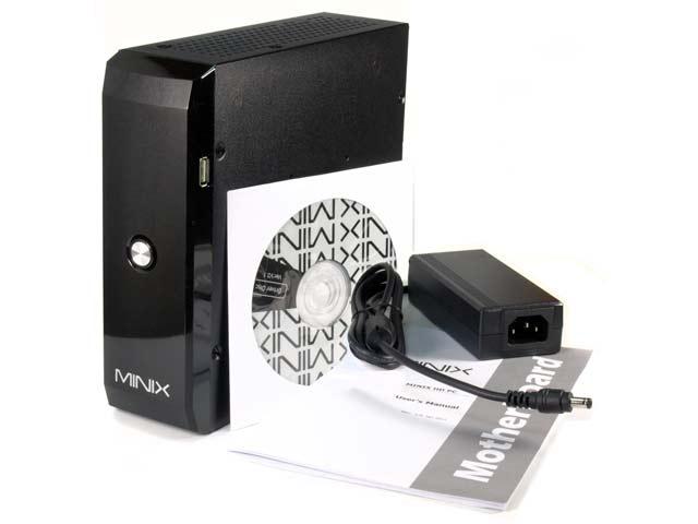 MINIX Mini HD - bezg�o�ny miniaturowy komputer barebone z Atom D2700