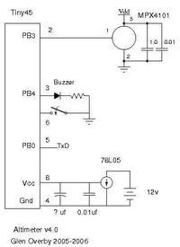 Prosty altimetr dla modeli rakiet