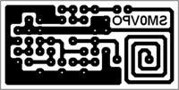 Mininadajnik UKF FM z drukowaną cewką