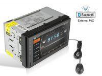 Wybór radia 2din - jedyne wymagania to wejście AV IN na kamerę oraz AUX/BT