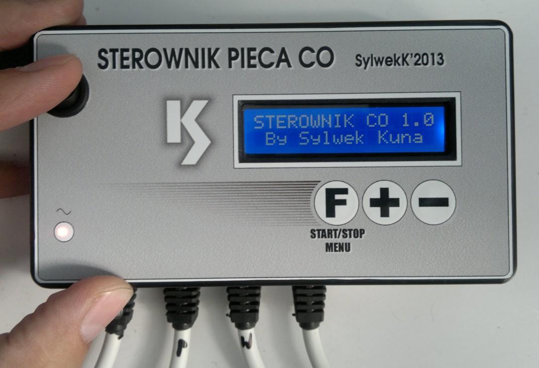 Sterownik pieca CO Atmega168