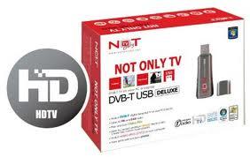 Tuner DVB-T USB NOT ONLY TV LV5T deluxe - pilot nie działa
