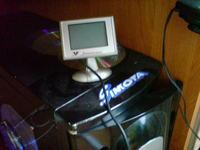 Wyświetlacz LCD do PC z czujników parkowania FALCONTRONIC