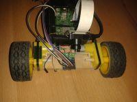 Robot Line Follower na Raspberry Pi + kamerka