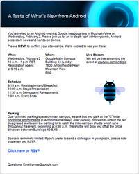 Android 3.0 Honeycomb zostanie pokazany 2 lutego