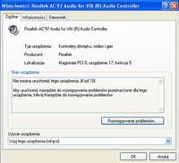 Karta Dzwiekowa nie dziala Windows XP Professional SP2
