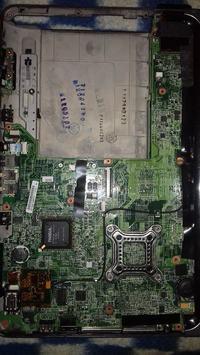 HP Pavilion tx 1000 - Ciemny ekran nic nie wyświetla.