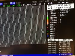 hitachi htss537575a9e384 (c4) reallocated event count