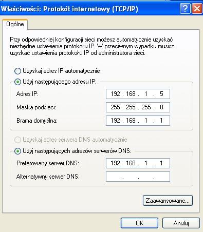 Karta sieciowa na GA-MA69G-S3H nie identyfikuje sieci