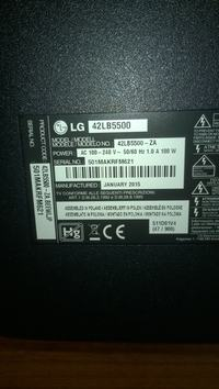 Telewizor LG 42lb5500 po podłączeniu HDMI buczy wzmacniacz