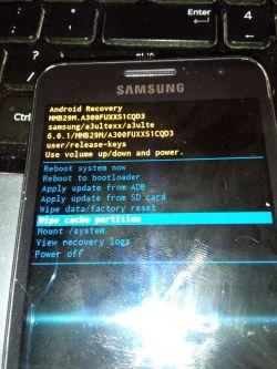 Telefon komórkowy Samsung A5 2016 jak przywrócić ustawienia fabryczne