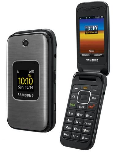 Samsung M400 - telefon dla seniora od Sprint