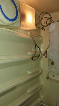 Chłodziarko - zamrażarka Polar 246 - pęknięta kapilara