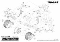 TRAXXAS Rustler XL-5 1/10 odnowa,ulepszenie