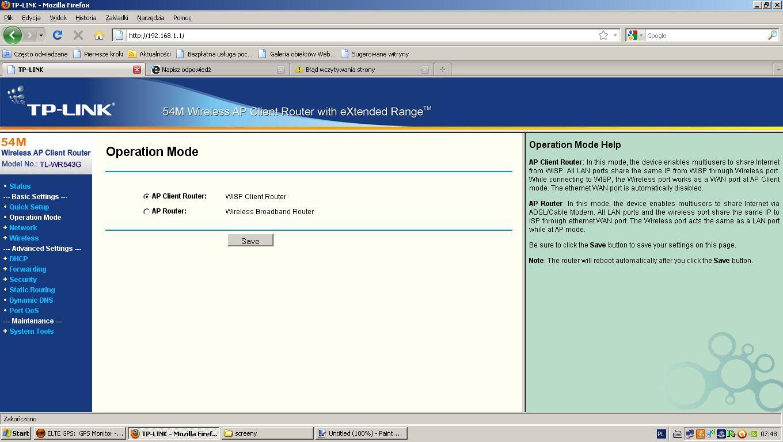 Jak zwi�kszy� zasi�g Wifi? router TL W8960 do AP TL - WR543G