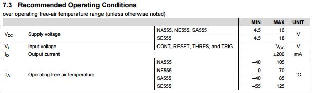 Schemat Przerywacza na NE555