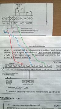 Satel CA5 - Jak podłączyć radioodbiornik U1HS firmy elmes