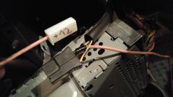 """Elektroniczny """"rezystor"""" dmuchawy Toyota Yaris."""