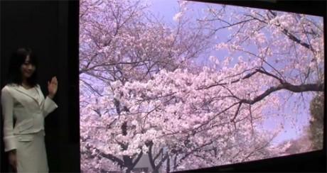 Panasonic i NHK opracowali 145-calowy wy�wietlacz plazmowy Ultra HD