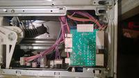 Spalona wi�zka pralka Electrolux EW 1043 s