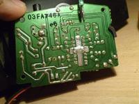 B503 - Uszkodzony potencjometr. Połączenie bezpośrednie.