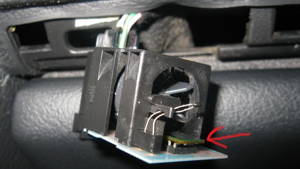 Czujnik wilgotnosci w kabinie - Peugeot