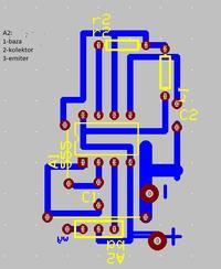 PCB przerywacz na NE555 �le zaprojektowana p�ytka?