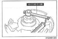 Kia Rio / Hyundai - Wymiana łożysk współdzielonych przód dobór pierścienia dysta