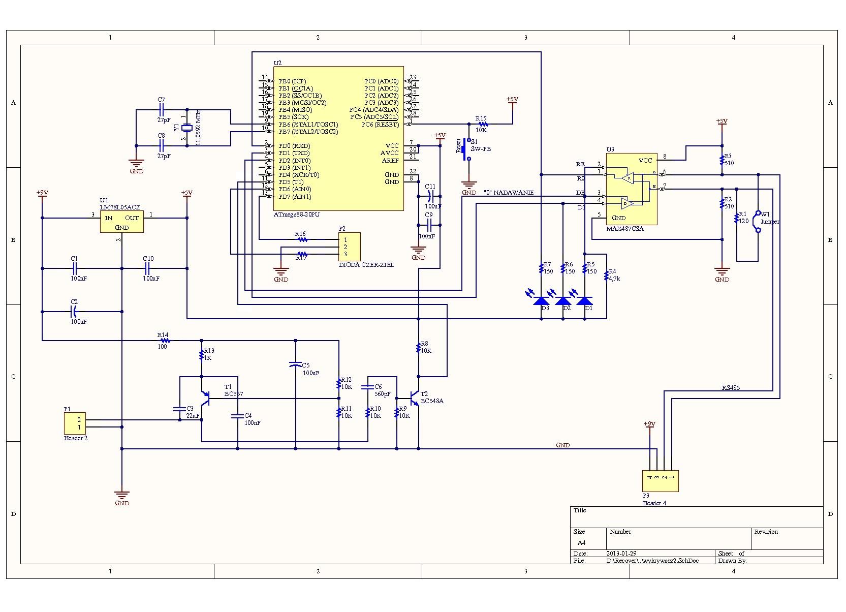 AVR Atmega88 - Licznik impuls�w - cz�sto�ciomierz