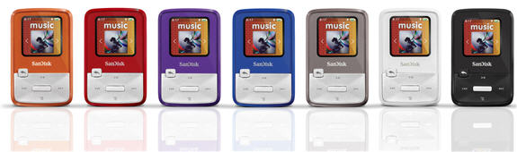 Odtwarzacz MP3 Sansa Clip Zip od SanDisk
