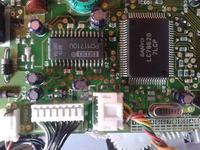 Zmieniarka Philips - Renault Megane I - uszkodzony tranzystor masy audio